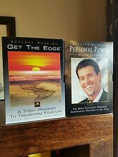 Anthony robbins get the edge and personal power dvds