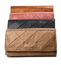Liebeskind Berlin SLAM PATCH Quilted Leather Flap Wallet