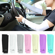 Sports Outdoor Cycling Bike Arm Warmer Cuff Sleeve Cover UV Sun Protection 1Pair