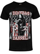 Dimebag Darrell Guitars Flag Men's Black T-shirt