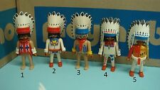 Playmobil Indians series feather cuffs Figure klicky Geobra Toy CHOOSE one 103