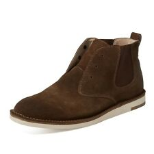John Varvatos Star USA Men's Mayfield Laceless Chelsea Dark Brown $268 msrp NIB