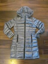 Andrew Marc Womens Long Packable Lightweight Premium Down Puffer Jacket