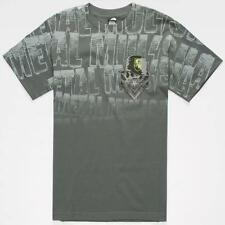 "*NWT*METAL MULISHA ""VOIDED"" MEN'S T-SHIRT*CHARCOAL*SIZE MED*"