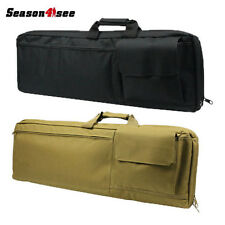 """33"""" /85CM Tactical Military Heavy Duty Gun Rifle Carrying Case Bag Backpack"""