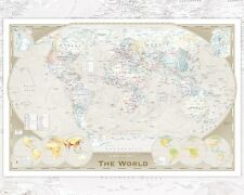 World Map Tripel Mini Poster 40x50cm