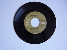 """Elvis Presley She's Not You / Just Tell Her Jim RCA 2705 Victor  7"""" Vinyl Single"""