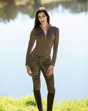 Goode Rider Jean Rider Full Seat Breeches in Leopard