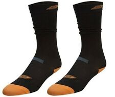 New PowerTek V3.0 2 Pair Ice Hockey Skate Low Socks Ankle & Arch Support S-XL