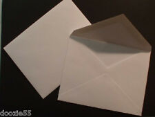 A6 Paper Envelopes 70# Text Premium V Flap 4 3/4 x 6 1/2 4x6 White or Vanilla