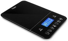 Ozeri ZK19 Touch III 10 kg Digital Kitchen Scale with Calorie Counter, 22 lb, Bl
