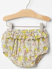 Baby GAP Girls Lemon Floral Ruffle Bloomers Diaper Cover 6 12 18 months NWT $20