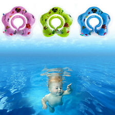 Neck Aid Toy Baby Newborn Bath Swimming Circle Float Ring Inflatable Safety New