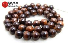 "SALE small 8mm Round Red natural tiger's-eye gemstone Beads strand-15"" -los696"
