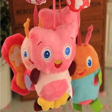Baby Infant Rattles Plush Animal Stroller Music Hanging Bell Toy Doll Softes Bed