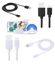 Long Micro USB Cable Data Charger Sync Lead Strong High Speed Charging 1m