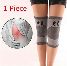 1x Gym Protector Kneecap Guard Brace Knee Bamboo Support Sport Bike Charcoal