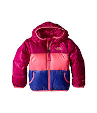 THE NORTH FACE TODDLER GIRLS REVERSIBLE MOONDOGGY JACKET CSB1BDX LUMINOUS PINK