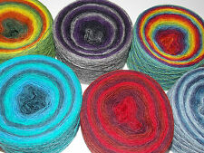 100g Kauni 8/1 Effect Yarn 100% pure Wool for LACE for hand and machine knitting