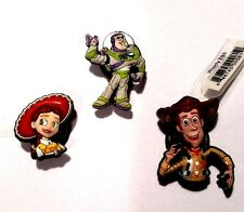 Jibbitz Toy Story Authentic Crocs Shoe Charms Disney Pixar Buzz Jessie Woody NWT