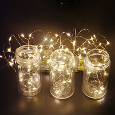 20 30 40 LED Christmas Wedding Xmas Party Decor Outdoor Fairy String Light Lamp