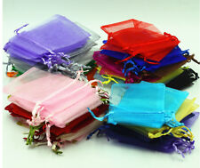 7*9cm Premium ORGANZA Wedding Favour GIFT BAGS Jewellery Pouches