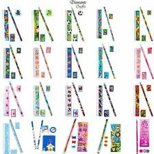 Stationery Sets - Childrens Character Kids Party Loot Bag Fillers - 20 Designs