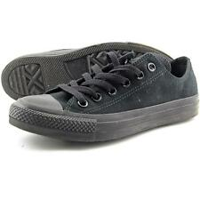 Converse All Star Chuck Taylor Ox Women US 7 Black Sneakers Pre Owned 2532