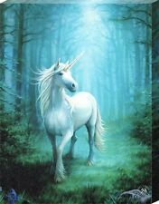 New Anne Stokes Forest Unicorn Canvas Print