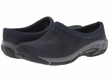 Merrell 'Encore Breeze 3' Womens Navy Blue Mesh Slip-On Clog Shoes