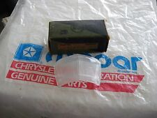 NOS MOPAR 1932-33 DODGE LICENSE LITE LENS