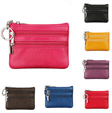 Womens Small Of leather First layer Card Holder New Handbag Coin Purse Clutch