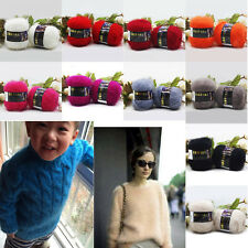 New 2016 Fashion Soft Mohair Wool Knitting Yarn Sweater Scarf Knitting Wool