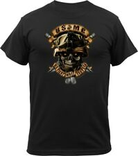 Black Marines 'We Fight What You Fear' USMC T-Shirt