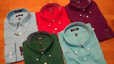 NWT, $50. MSRP, Mens Chaps Classic Fit Twill Cotton Blend Dress Shirt