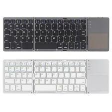 Kkmoon Foldable Wireless Bluetooth Keyboard with Touchpad for Phone Tablet Q1Y4