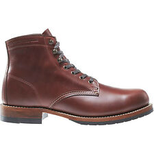 WOLVERINE 1000 MILE EVANS BOOT DARK BROWN W40196 MADE IN THE USA