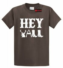 Hey Y'all T Shirt Cute Country Music Redneck Southern Rebel Gift Tee Shirt