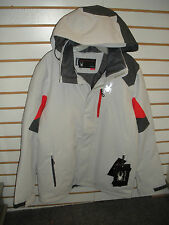 SPYDER MENS CANNON INSULATED SKI-WINTER JACKET-153074-SMALL- CIRRUS