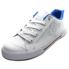 DC Shoes Chelsea TX Women  Round Toe Canvas White Skate Shoe