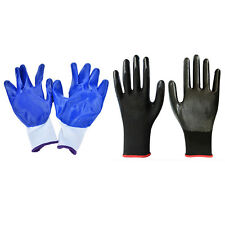 1 Pair Worker Latex Rubber Work Labor Anti Prick Gloves Safely Gloves Asxv