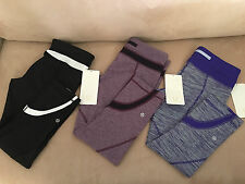 NWT LULULEMON Run Inspire Crop II Size 6 and Size 8