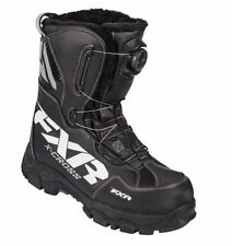 FXR X-CROSS SNOWMOBILE BOOTS WITH BOA SYSTEM – BLACK WINTER BOOT, MEN'S / WOMENS