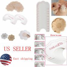 5 pairs Invisible Bra Flower Nipple Covers Uplift Tape Push Up Sticky us stock