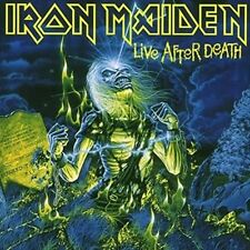 Live After Death - Iron Maiden 12 INCH VINYL SINGLE