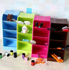 Boxes Cosmetic Bar Office Organizer Storage Box Underwear Candy Color Desk Home