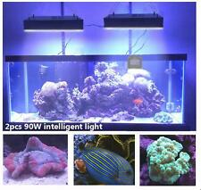 2pcs Dimmable WIFI LED Aquarium Light For Coral Reef Marine Fish Tank