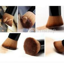 Angled Flat Makeup Brush Liquid Foundation Powder Contour Concealer Tool
