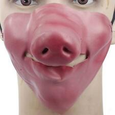 Funny Horrible Scary Half Face Clown Mask Cosplay Latex  Masks Halloween's Day