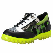 Giuseppe Zanotti Homme Leather Sneakers Shoes 6 7 8 8.5 9 9.5 10 10.5 11 12 13